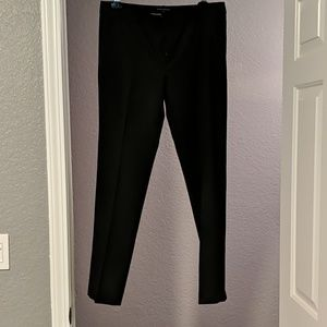 Straight leg dress pants